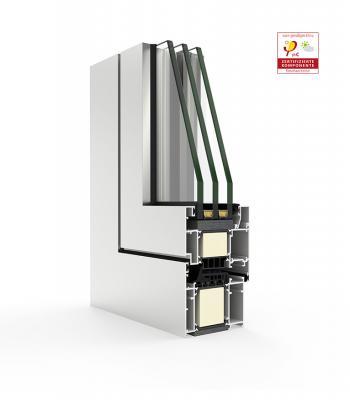 Sistema Cor 80 Industrial RPT / Passivhaus